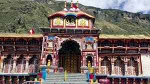 File photo: A view of Badrinath temple.(ANI)