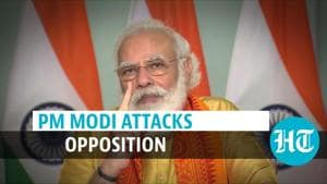 'They are not with farmers, youth or jawans': PM Modi's attack at opposition