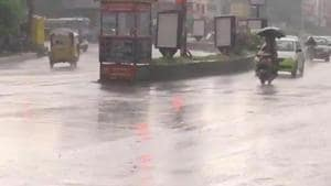 While Mulugu district received the highest rainfall of 1916 mm, Nalgonda received the lowest rainfall of 636 mm. Out of 33 districts, as many as 27 districts received an excess rainfall of 20 per cent or more. (ANI photo)