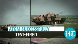 Watch: India made laser-guided anti-tank guided missile successfully test-fired