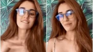 Disha Patani in screengrabs from her video.
