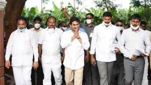 With 22 MP seats, the YSRCP is the fourth largest national party. It also has six MPs in Rajya Sabha. (Photo @AndhraPradeshCM)
