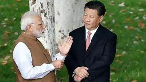 Prime Minister Narendra Modi with Chinese President Xi Jinping(File photo)