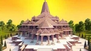 Engineers of Larsen and Toubro, the company carrying out the construction of the temple, started the shifting process with the help of cranes and trucks.