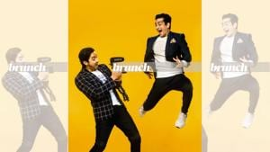 Mumbai boys Nikhil Sharma and Ranveer Allahbadia are top Indian YouTubers with over a million subscribers. Make-up and hair by Ashwin Shelar; On Nikhil: Oufit, Jack & Jones; watch, Apple; On Ranveer: Suit, Don & Julio; T-shirt, Uniqlo; pocket square, Raymond; jeans, Massimo Dutti, shoes, Fila(Subi Samuel)