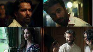 Harshvardhan Rane, Pulkit Samrat, Kriti Kharbanda, Jim Sarbh in a still from Taish teaser.