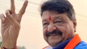 File photo: BJP national general secretary Kailash Vijayvargiya.(@KailashOnline/Twitter)