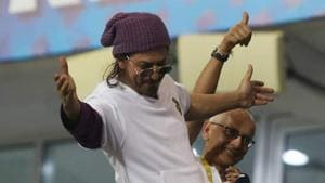 IPL 2020: Shah Rukh Khan used a dialogue from an Al Pacino movie to describe KKR's 2-run win over KXIP(Twitter)