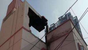 Kolkata club where the explosion took place (Image: Twitter)