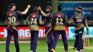 IPL 2020: Kolkata Knight Riders are currently placed 4th on the points table.(IPL/Twitter)