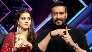 Kajol says Ajay Devgn told her about the kissing scene after he had already done it.