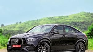 It's the sporty character that marks the GLE 53 Coupé out