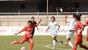 Since the last season of the Indian Women's League, which ended in mid-February, India's women footballers have been out of action and the future remains uncertain.(AIFF)