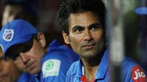IPL 2020: Delhi Capitals assistant coach Mohammad Kaif looks on.(IPL)