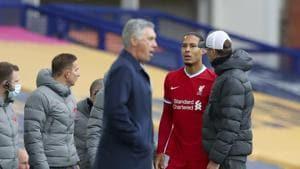 Van Dijk needs right knee surgery, set for long absence
