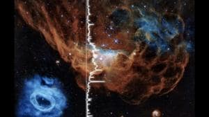 Ever wonder what the Cosmic Reef 'sounds' like? NASA's video has the answer