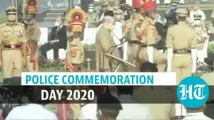 Watch: Amit Shah pays tribute to police personnel who died in line of duty