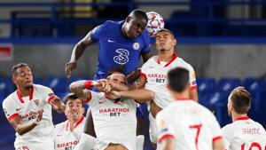 New-look Chelsea held 0-0 by Sevilla in Champions League