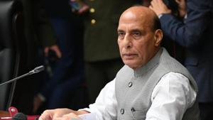 Defence Minister Rajnath Singh may also visit the forward locations where India has deployed a large number of men and tanks to prevent any possible attempt of infiltration by the Chinese.(AP file photo)