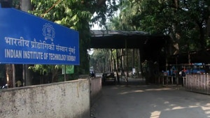 Indian Institute of Technology Bombay.(HT file)