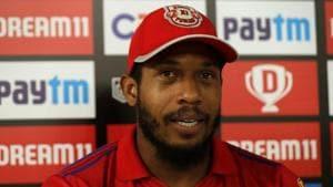 IPL 2020: Chris Jordan explained the season behind his 'controversial' second run.(IPL)