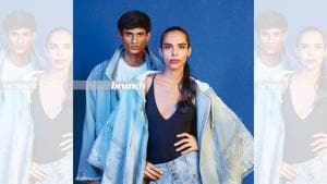 At 19, Mansi took part in Elite Model Look, started auditioning and began working, whereas a chance encounter got 17-year-old Neeraj Saini an audition at Ninjas Model management. Styling by Avneet Chadha and Bharat Gupta. Art direction by Amit Malik; Make-up and hair by Preeti Sharma; On Neeraj: Jacket, Abhishek Sharma; T-shirt, Uniqlo; jeans, Polo; shoes, Royal Enfield; On Mansi: Jacket and shorts, Abhishek Sharma; top, Zara(Shivamm Paathak)