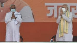 BJP, JD(U) contested as rivals in 2015 in Jhajha constituency