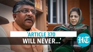 'One nation can't have 2 flags': BJP condemns ex-J&K CM's tricolour comment