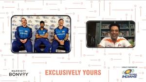 Television presenter Samir Kochhar hosted the Mumbai Indians virtual interaction with Marriott Bonvoy members