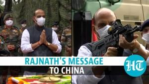 Watch: Weapon worship by Defence minister Rajnath Singh, & warning to China
