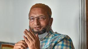 AIMIM President Asaduddin Owaisi on Sunday slammed RSS chief Mohan Bhagwat for his comment on CAA.(PTI)