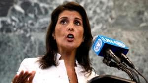 China a 'number one national security threat' to US: Nikki Haley