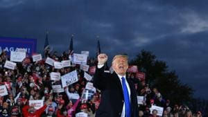 Biden, Trump rallies in swing states starkly different as Covid-19 cases surge