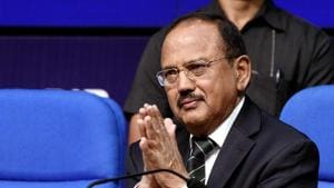"""""""You said we have never attacked anyone and there are many views about it. If there is a threat to the country, then we should have attacked as it is important to save the country,"""" the NSA had said.(Mohd Zakir/HT file photo)"""