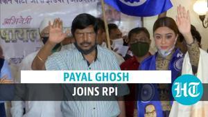 Watch: Payal Ghosh joins RPI; says Bollywood should boycott Anurag Kashyap