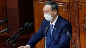 Japanese Prime Minister Yoshihide Suga.(Reuters Photo)