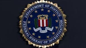 The Federal Bureau of Investigation (FBI) insignia (AP Photo/Jose Luis Magana, File)