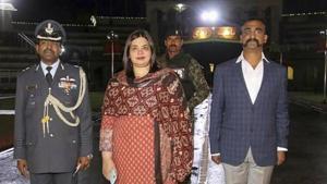 Indian Air Force (IAF) pilot Wing Commander Abhinandan Varthaman.(PTI)