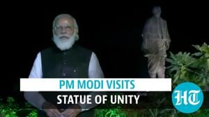 Watch: PM Modi visits Statue of Unity, inaugurates projects in Gujarat