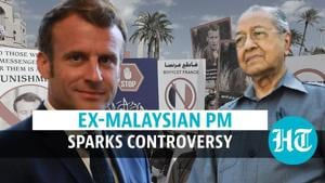 'Muslims have a right to kill the French': Ex-Malaysian PM on recent controversy