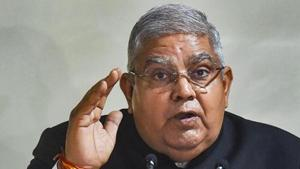 Expressing concern over the law and order situation in the state Jagdeep Dhankar alleged that the government officials are working like political servants when they should work like public servants(PTI)