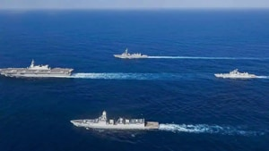 The first phase of the naval exercise 'Malabar' will take place from November 3 to November 6.(PTI image)