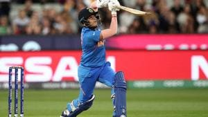 Shafali Verma during the Women's T20 World Cup earlier this yea(Getty Images)
