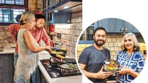 Saransh Goila's videos with his mother cooking Sindhi food are a huge hit on social media