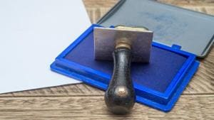 Investigations have revealed that 66 documents were allegedly marked to a Zirakpur naib tehsildar for registration with his signature on the day of his arrest.(Shutterstock)