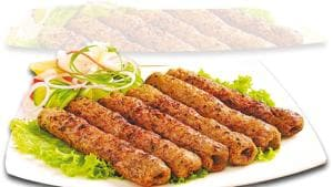 A good seekh consists of minced keema, mixed with spices and stuck on to a skewer