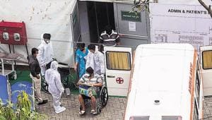 Pune city reported 175 new cases, taking its count to 1,88,477 with one Covid-related death on Monday, putting the death toll at 4,379.(Pratham Gokhale/HT Photo)