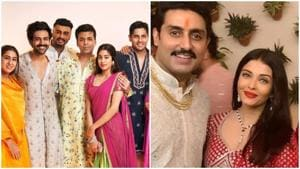 Diwali 2020: Karan Johar has a photoshoot last Diwali with his Dharma family while the Bachchans invited their friends from Bollywood.