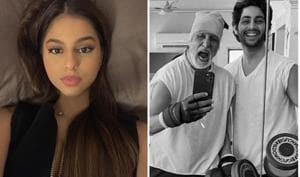 Check out Suhana Khan and Agastya Nanda's banter on social media.