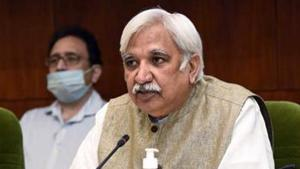 Chief Election Commissioner, Sunil Arora during the press conference to announce the schedule for Bihar Legislative Assembly Elections 2020, in New Delhi.(ANI File Photo)